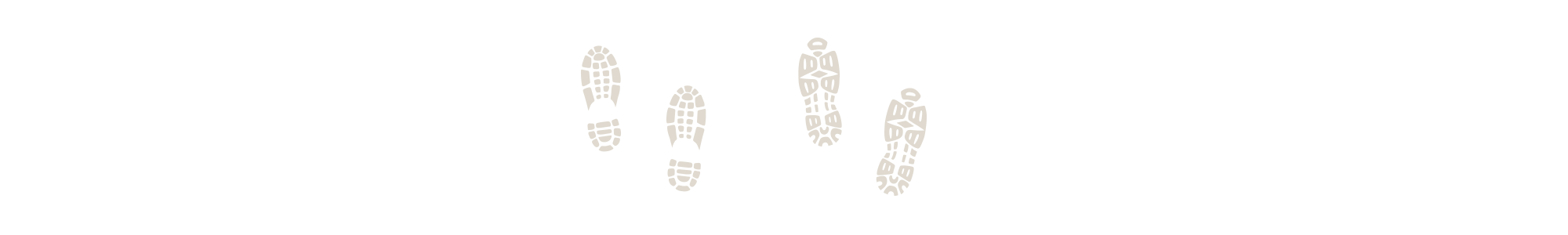footsteps graphic