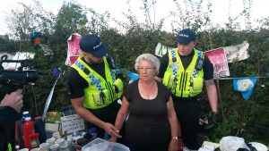 Jackie Brookes - Tea for anti-frackers